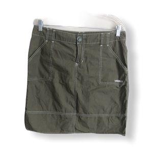 Hurley Olive Green Utility Skirt